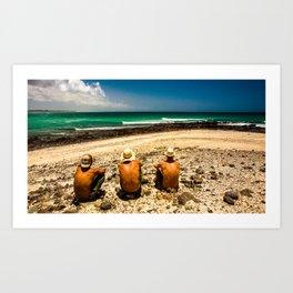 surfEXPLORE Oman Art Print