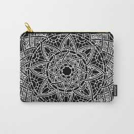 Family: forever intertwined (black) Carry-All Pouch