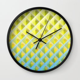 Deep Magic grid 04 Wall Clock