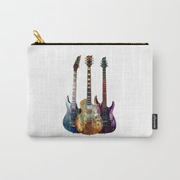 Sounds of music.Three Guitars. Carry-All Pouch