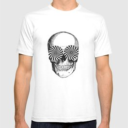 Black & White - Optical Skull T-shirt
