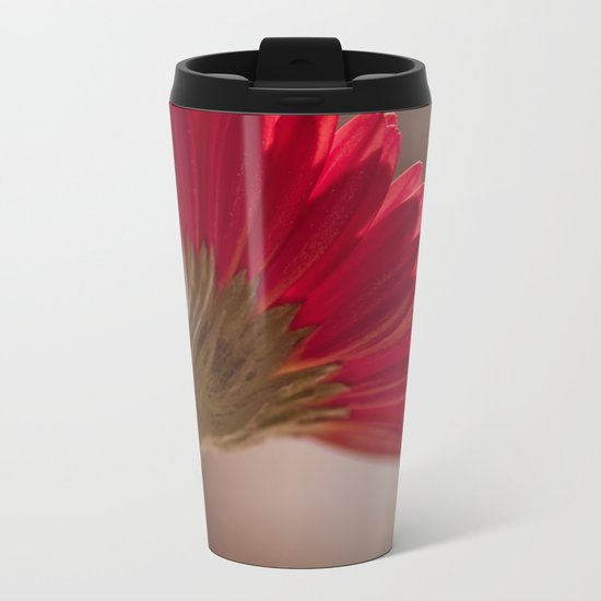 Gerbera Metal Travel Mug