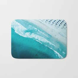 Dubai coastline #society6 #decor #buyart #homedecor Bath Mat