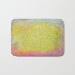 Thick pastel colored  texture Bath Mat