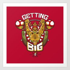 Getting Big Art Print