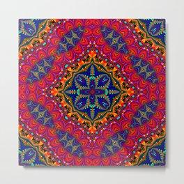 Beautiful colorful Kaleidoscope SB4 Metal Print