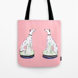STAFFORDSHIRE GREYHOUND TWINS Tote Bag