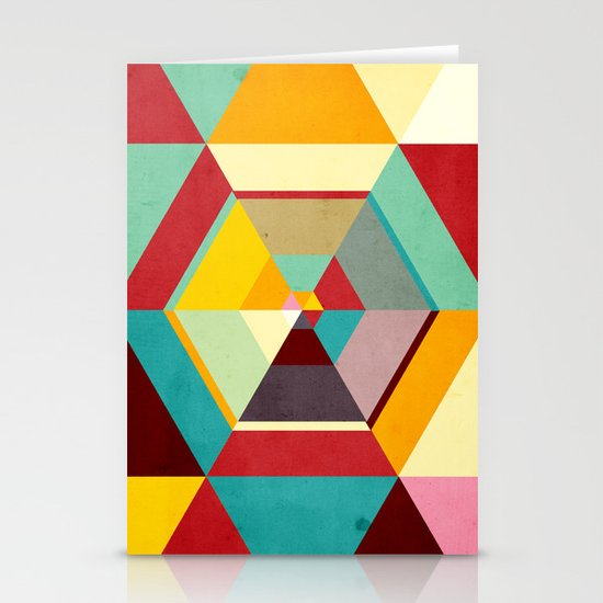 Color Mess Stationery Cards