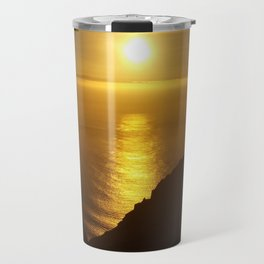 Sunset over the Canary islands Travel Mug