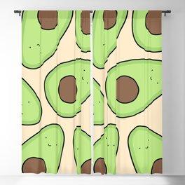 Cute Avocado Pattern Blackout Curtain