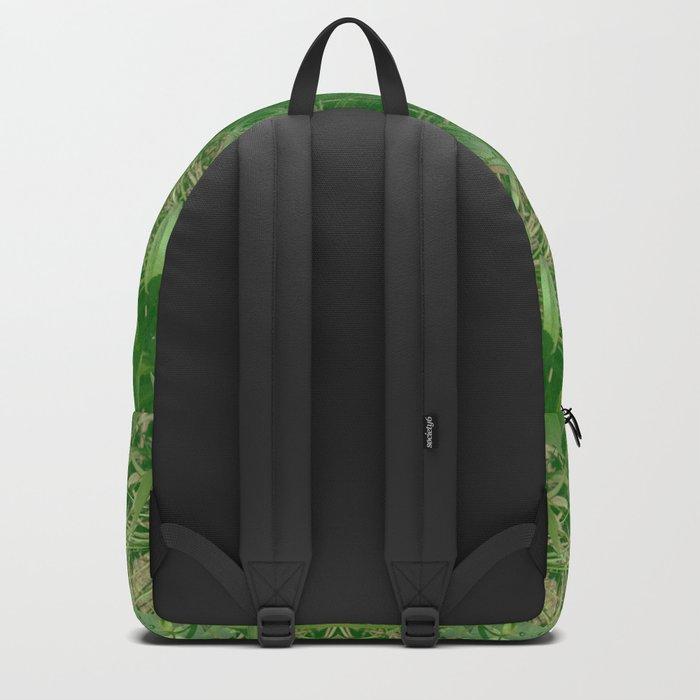 Leafy Dreams Mandala Backpack