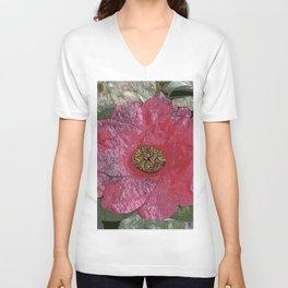 Camellias - Impressionist Unisex V-Neck