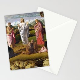 Giovanni Bellini - Transfiguration of Christ Stationery Cards