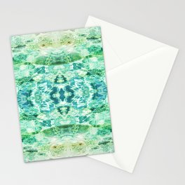 117 - water reflections Stationery Cards
