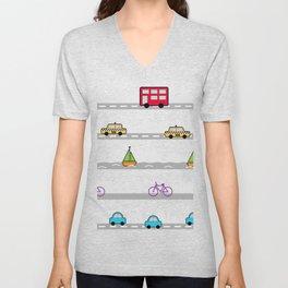 City travel Unisex V-Neck