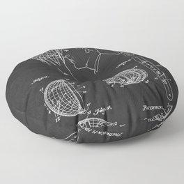 Star Identifier Vintage Patent 1945 Floor Pillow