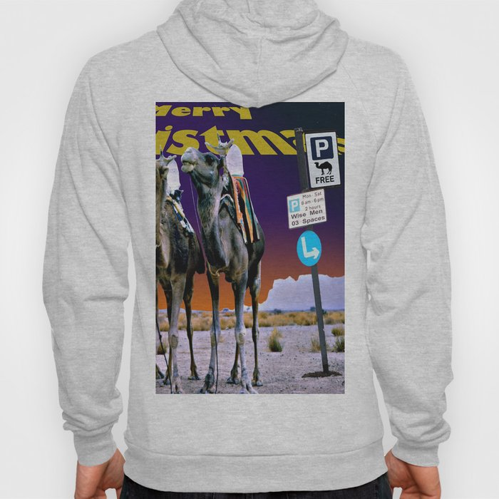 Christmas - Three Wise Men Parking Bay. Hoody