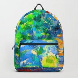 Paul Cezanne Forest Scene Backpack