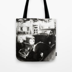 framed Aston Martin Tote Bag