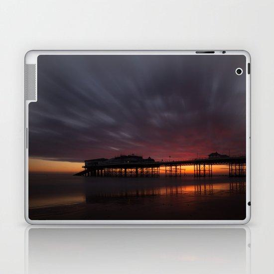 Cromer Pier - Pre Sunrise Laptop & iPad Skin