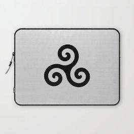 grey triskele Laptop Sleeve