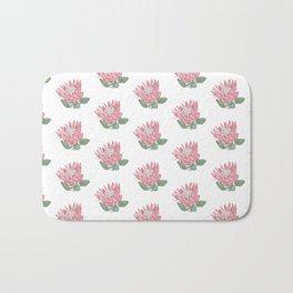 Pink Protea Bath Mat