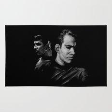 Kirk & Spock Rug