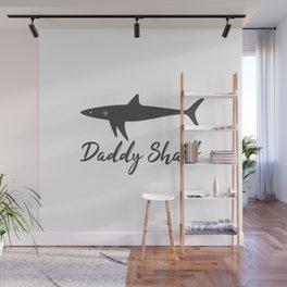 Daddy Shark Wall Mural