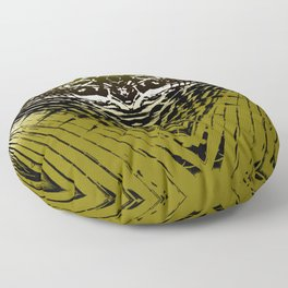 Shield of Gold Palms Floor Pillow