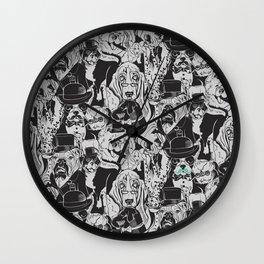 Dapper Dogs Wall Clock