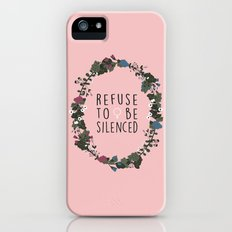 Refuse to be Silenced Slim Case iPhone SE