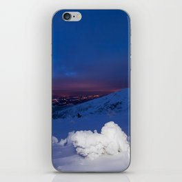 Winter in the Giant Mountains iPhone Skin