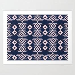 Seamless colorful pattern 6 / abstract / geometric Art Print