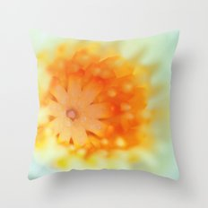 Water Lilly 731 Throw Pillow