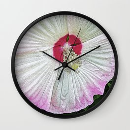 Marsh Rose Wall Clock