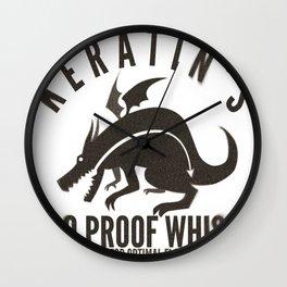Keratin's Dragon Distilled Whisky Wall Clock