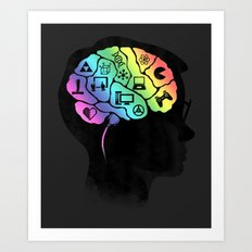 What's on your mind? Art Print