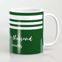 The man of a thousand voices Coffee Mug
