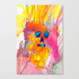 Neonderthal Ink Canvas Print