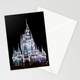 Icy Castle Stationery Cards