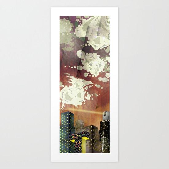Zoo Sky Art Print