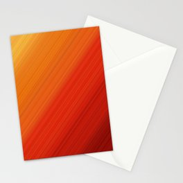 Linear Fire Stationery Cards