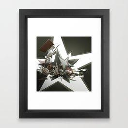 Corner to Corner Framed Art Print