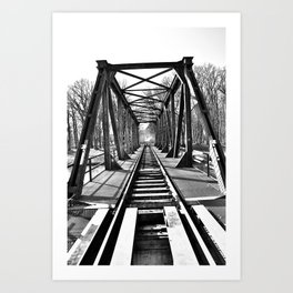 Bridge 4 Art Print