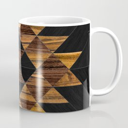 Urban Tribal Pattern 11 - Aztec - Wood Coffee Mug