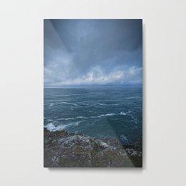 The Tempestuous Sea Metal Print