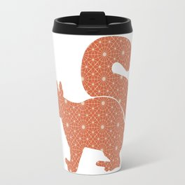 SQUIRREL SILHOUETTE WITH PATTERN Travel Mug