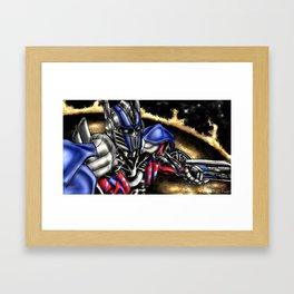OptimusP Framed Art Print