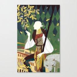 Dragon Age Solas Tarot Paper Art Canvas Print