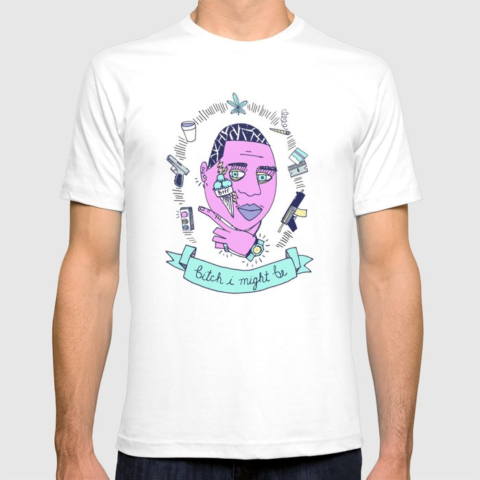 98f7c441 Gucci Mane may or may not be guilty... T-shirt by brittneymaynard ...